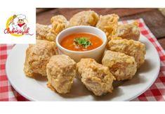 5 Resep Gorengan Yang Harus Kalian Coba Dirumah, Resep Gorengan Tahu Isi, Indonesian Food, Tempura, Garlic Bread, Nom Nom, Food And Drink, Menu, Cooking Recipes, Chicken
