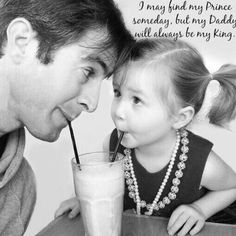 """I may find my Prince someday, but my Daddy will always be my King.Dear God-my daddy"""" Daddy Daughter Quotes, Father And Daughter Love, My Daddy, Mom And Dad, Nephew Quotes, Aunt Quotes, Future Daughter, Sister Quotes, Baby Quotes"""
