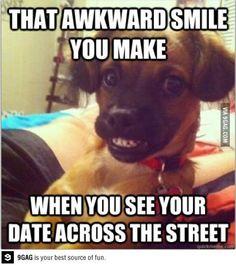 #awkward #Smile