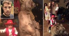 Punish Russian soccer player that hired bear from local circus for son's party!