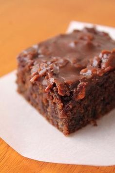 Louisiana Bride: My Grandmother's Buttermilk Brownies