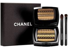 Nos idées de cadeaux beauté de la rédaction : La palette de fards à paupières Les Ombres Lamées de Chanel