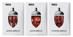 DeMaría, Cold MeatPacks. i have to say, it's brilliant to get a client who is open to ideas like this! for a moment i thought this was packaging for gourmet chocolate.
