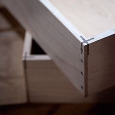 Stunning. Gorgeous. Incredibly inventive joinery.: