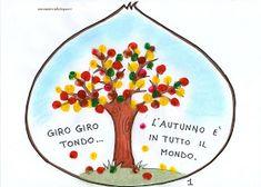 maestra Nella: autunno: libretto castagna