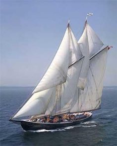 The Bluenose, the iconic Nova Scotia fishing schooner launched in Lunenburg in 1921, pulled in record catches and had a 17-year unbeaten streak in the 1930's and 1940's.