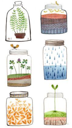 64 Best Art A World In A Jar Images Jars Activities Art For Kids
