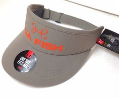 d1ffac349a2 Under Armour UA Fish CoolSWITCH ArmourVent One Size Fits All Visor Cap