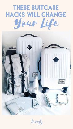 Suitcase hacks that will make packing (& your life) easier.