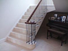 Ivory Limestone Stair Treads & Risers
