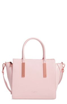 d0832e73d1 Ted Baker London Ted Baker London Mini Grain Tote available at  Nordstrom  Pink Accessories