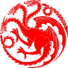 2 (two) -Full Color approximately x inch Targaryen sigil inspired by the series Game of Thrones/A Song of Ice and Fire Casa Targaryen, Arte Game Of Thrones, Got Dragons, Game Of Trones, Gaming Tattoo, Diy Tattoo, Tattoo Ideas, Valar Morghulis, Deviantart