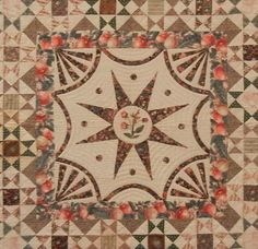 A Lovely Ohio Stars Quilt  When the Infinite Variety Red and White Quilt Exhibit was at the Armory in NYC in March, this lovely quilt was on display at the American Folk Art Museum near Lincoln Center.
