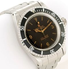 Rare Rolex Submariner 5513 With Explorer Dial Up For Sale