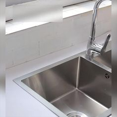 Kitchen Room Design, Kitchen Decor, Kitchen Taps, Design Case, Apartment Design, Utensils, Life Hacks, Sink, Projects To Try