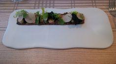 Duck. pistachio. mustard @ Maison Manesse