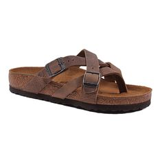 78c0e87737a Shop Women s Temara Camberra Sandal in Oiled Tobacco Brown Leather by  Birkenstock on Country Club Prep
