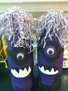 Purple minion - Southern Outdoor Cinema expert tip for theming and enhancing a movie night at school.