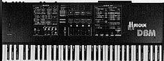 Crumar Unique DBM  Vintage sequencer/controller