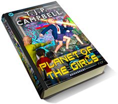 luxury 3d book cover of T.J.P. CAMPBELL's books (covers also by the author)