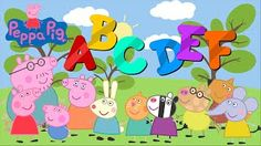 Download video: LEARN ALPHABET WITH PEPPA PIG