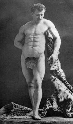 Eugen Sandow as Farnese Hercules