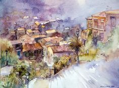 watercolor art | ... the best urban watercolor paintings from some very talented artists