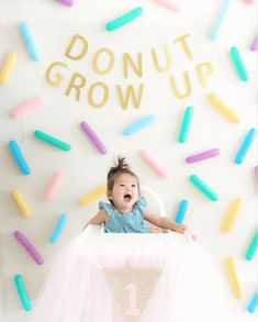 This DIY Sprinkle Wall is perfect for any party You can have this colorful sprinkle backdrop for various themed parties donut ice scream colorful unicorn rainbow dessert pride and Donut Birthday Parties, Birthday Diy, Birthday Party Themes, Themed Parties, Unicorn Birthday, Birthday Party Decorations Diy, Diy Birthday Backdrop, Birthday Ideas, Paris Birthday