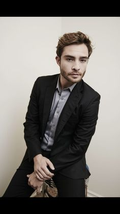 Ed Westwick he handsome and good looking