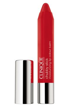 Clinique 'Chubby Stick' Moisturizing Lip Color Balm in Whoppin Watermelon available at #Nordstrom