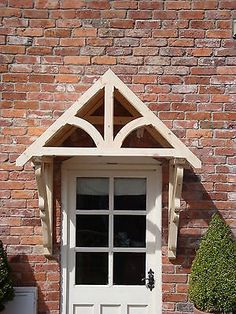 "TIMBER FRONT DOOR Canopy Porch, ""BLAKEMERE SCROLLED GALLOWS""awning canopies - £186.00 