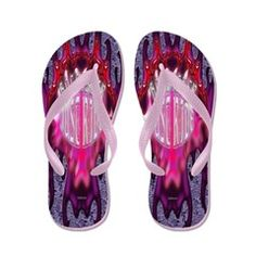 Hollister Just Ride Pink Flaming Flip Flops.  To see these Flip Flop Sandals and many more to choose from, follow this link;  http://www.cafepress.com/cheylines/10123909