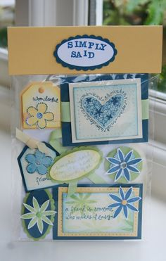 Stampin' 'n Stuff: Convention Cardy Candy Swaps