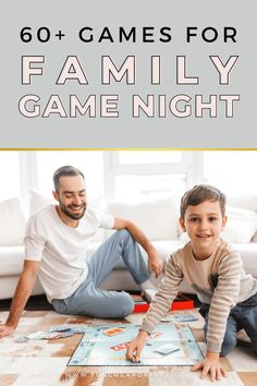 It's time to hold a family game night! We've rounded up over 60 of the best family games. We even broke them down by age to help you out!