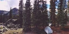 lasplayaslasmontanas:  Camping in the backcountry is the bees knees. My tent felt right at home in the San Juan Mountains.