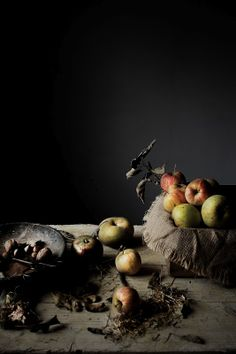 ♂ Still life The first apples for a tarte | Food, photography and stories