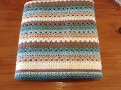 Ravelry: Cosy Stripe Blanket pattern by Lucy of Striped Crochet Blanket, Crochet Quilt, Ravelry Crochet, Crochet Blankets, Crochet Mermaid Tail, Crochet Flower Tutorial, Crochet Ideas, Crochet Shell Stitch, Crochet For Beginners Blanket