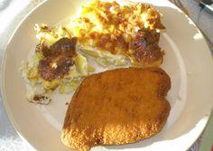 Krumplis pite csirkemellel