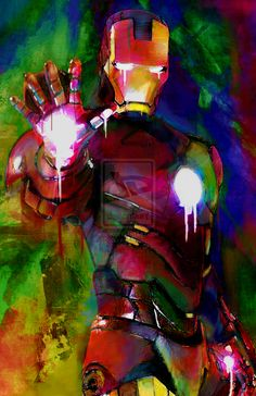 Iron Man (Heroes) by j2krazy