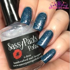 """Polish and Paws: """"Good Witch"""" by Sassy Pants Polish The Wizard of Oz Collection ~ Holiday 2015 (Shown over Ballbuster from the """"Find Your Sassy"""" Collection)"""