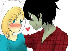 Marceline and Marshal Lee Anime   Parejas de cartoon