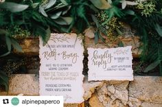 #Repost @alpinepaperco (@get_repost)  We've been DYING to show you photos from our styled shoot at @theprovidencecottonmill that we did in March! So here we go! Here is a handmade wedding invitation suite we created for this whimsical day! Many of you have asked if we do wedding invites so this is also a little announcement to let you know that we're in the process of creating templates for wedding invitations! Be on the outlook in the coming months for more info. We will be sharing more…