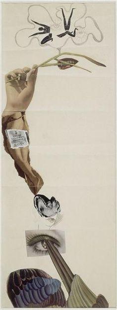 Marcel Jean (16 déc. 1900 - 4 déc. 1993), Sophie Taeurb Sophie Henriette Taeuber-Arp (1889 - 1943), Oscar Dominguez ( 3 janv. 1906 - 31 déc. 1957), Jean Arp (16 sept. 1886 - 7 juin 1966) Cadavre exquis 1937 (C) Karbowsky Adrien Credit:  Photo (C) Centre Pompidou, MNAM-CCI, Dist. RMN-Grand Palais / Droits réservés