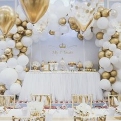 LYVEEF Confetti Balloons Party Balloons Latex Balloons Birthday Balloons Baby Shower Balloons Wedding Balloons for More Parties 50 Pcs Pack-White, Gold, Golden Confettii Balloons with Ribbon White Party Decorations, Bridal Shower Decorations, Balloon Decorations, Birthday Party Decorations, Birthday Parties, Gold Birthday Party, Balloon Birthday, Birthday Table, Balloon Ideas
