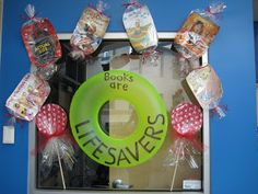 Elementary Library Decoration Themes | BOOKWORM BLOG: Books are Sweet at Vineyard Elementary!
