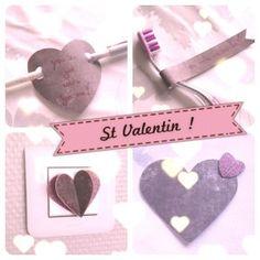 DIY St Valentin love coeur Diy St Valentin, Christmas Ornaments, Holiday Decor, Birthday, Bricolage, Christmas Jewelry, Christmas Decorations, Christmas Decor