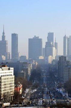 Warsaw city Warsaw City, Warsaw Poland, Places Around The World, Around The Worlds, Cities, Visit Poland, Poland Travel, Heart Of Europe, Ukraine