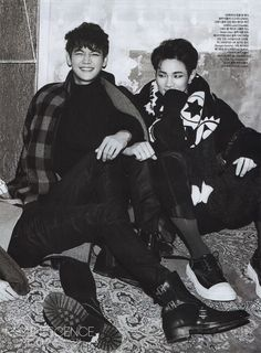 141114 SHINee - Minho and Key, Céci Magazine December Issue