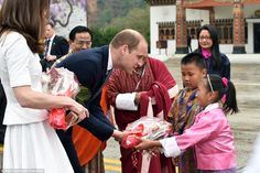 The Duke and Duchess of Cambridge departed Bhutan at Paro International Airport, ahead of their visit to the Taj Mahal