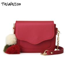 Aliexpress.com   Buy 2018 Spring and Summer New Lady Plush Ball Scrub  Package Shoulder Messenger Bags Small Zip   Hasp Crossbody Bag Women  Handbags from ... 03bc14bf66a8e